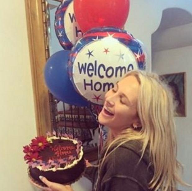 Stephanie Pratt back home in LA 12 May