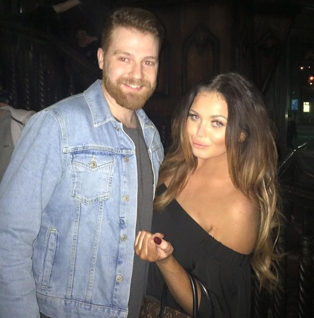 Scarlett Moffatt on night out with Luke Crodden - 11 May 2016