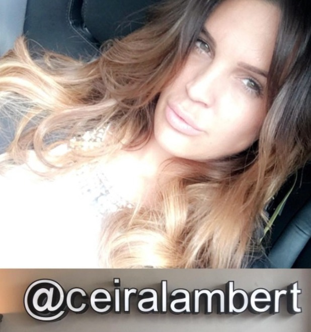 Danielle Lloyd shows off fabulous new hair extensions, by Ceira Lambert, 10 May 2016