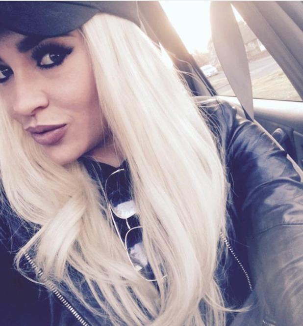Stephanie Davis selfie, 12/5/16