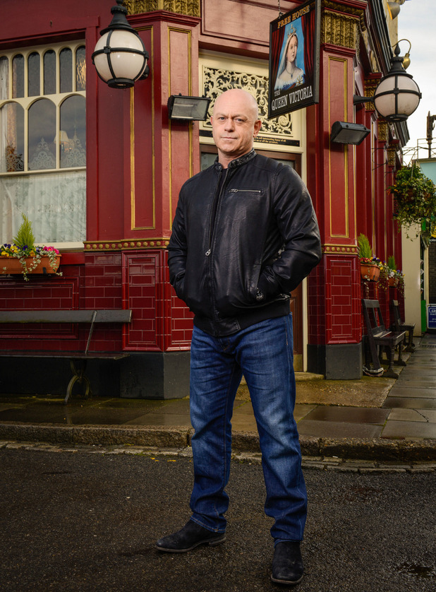 EastEnders - Grant Mitchell. May 2016.