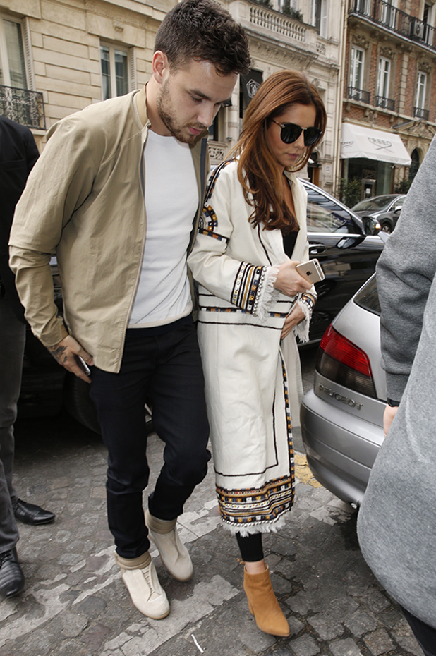 Cheryl Cole and Liam Payne out and about, Paris, France - 09 May 2016