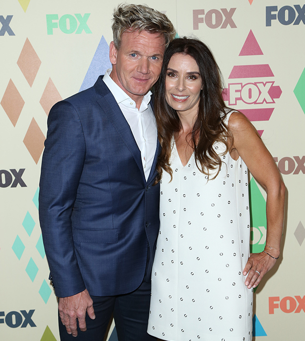 Celebrities attend 2015 Television Critics Association Summer Press Tour - FOX All-Star Party at Soho House. Gordon and Tana Ramsay