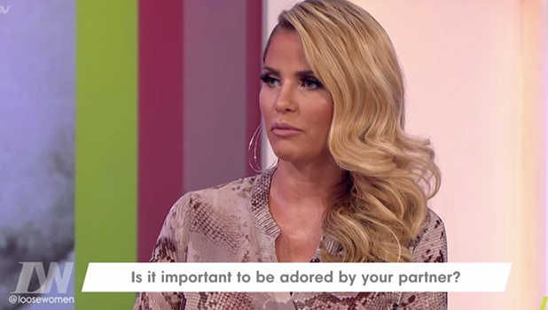 Katie Price on Loose Women, 11 May 2016