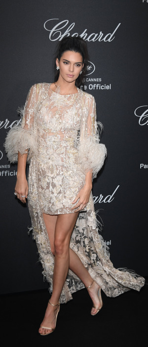 Keeping Up With The Kardashians star Kendall Jenner attends the Chopard party in Cannes, 17th May 2016
