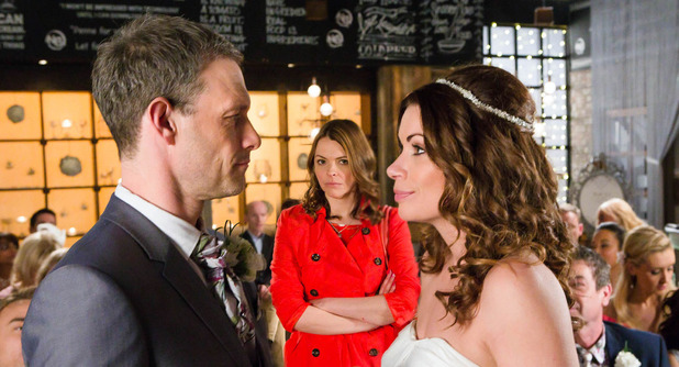 Corrie, will Tracy stop the wedding? Tue 24 May