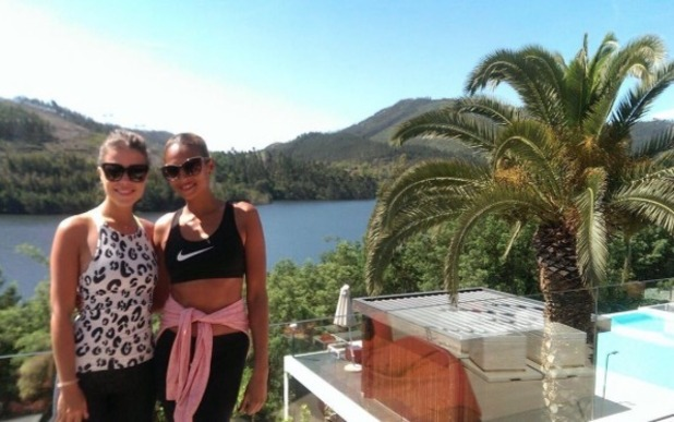 Chloe Lewis forms friendship with Alesha Dixon at juice retreat in Portugal - 19 May 2016