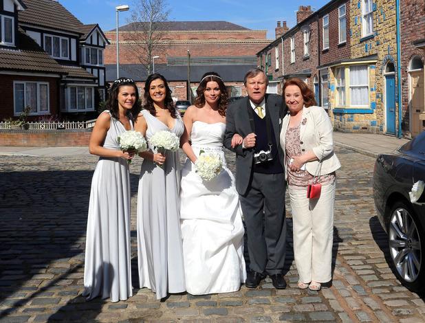 Corrie, Carla's wedding day, Mon 23 May