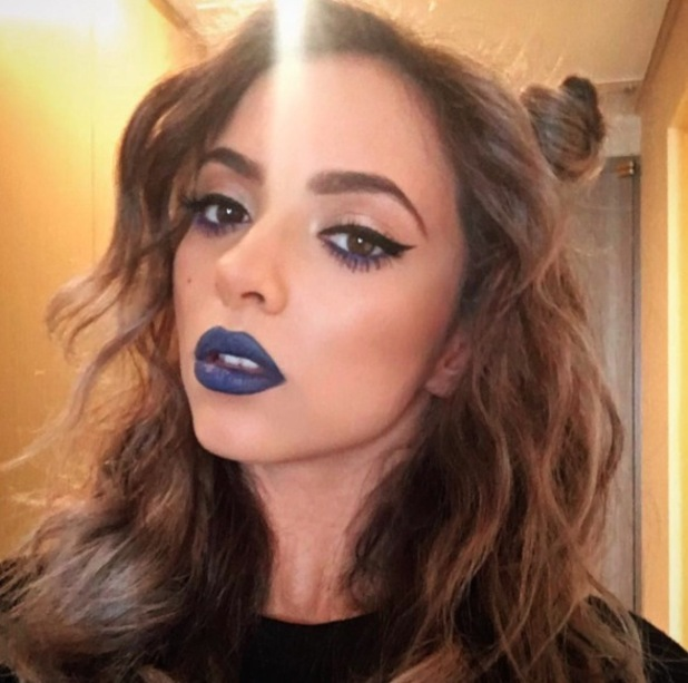 Little Mix's Jade Thirlwall wears M.A.C Royal Lipstick on Get Weird tour in Tokyo, 16th May 2016
