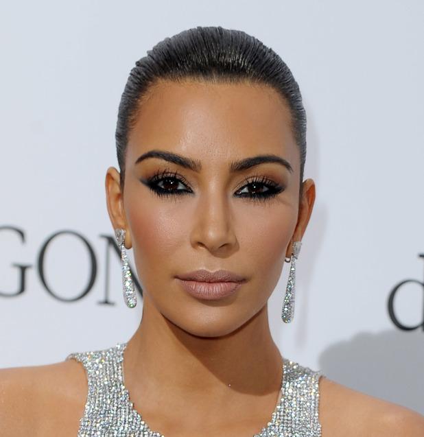 Kim Kardashian rocks the smokey eye look in Cannes, France 16th May 2016