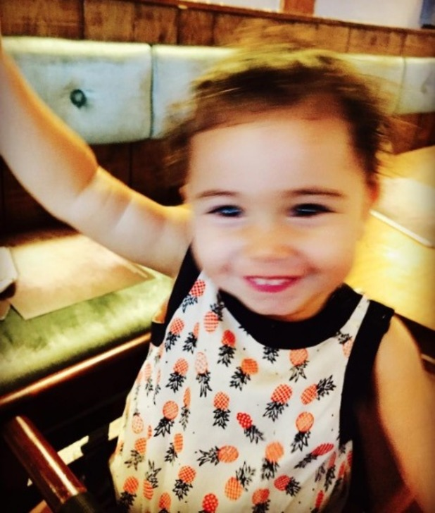 Nadine Coyle shares rare picture of daughter Anaíya - 16 May 2016
