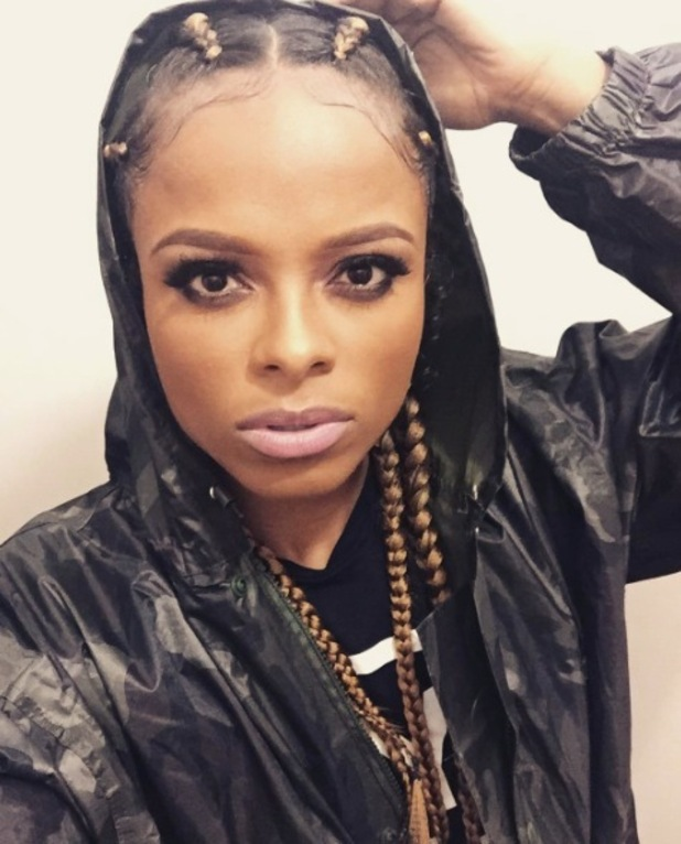 X Facto singer Fleur East swaps her curly afro-style hair for tight braids, London, Instagram, 16th May 2016