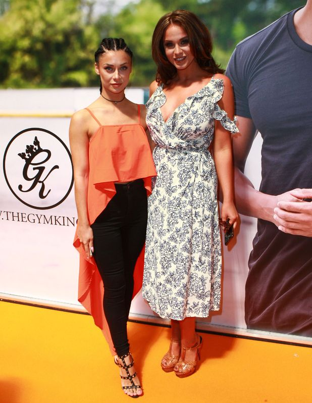 Cally Jane Beech, Vicky Pattison attend the Body Power Expo, Birmingham NEC 15 May
