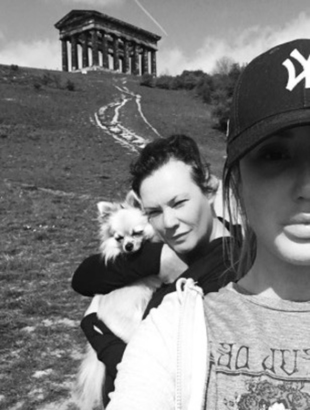 Charlotte Crosby celebrates 26th birthday with hill sprints - 17 May 2016