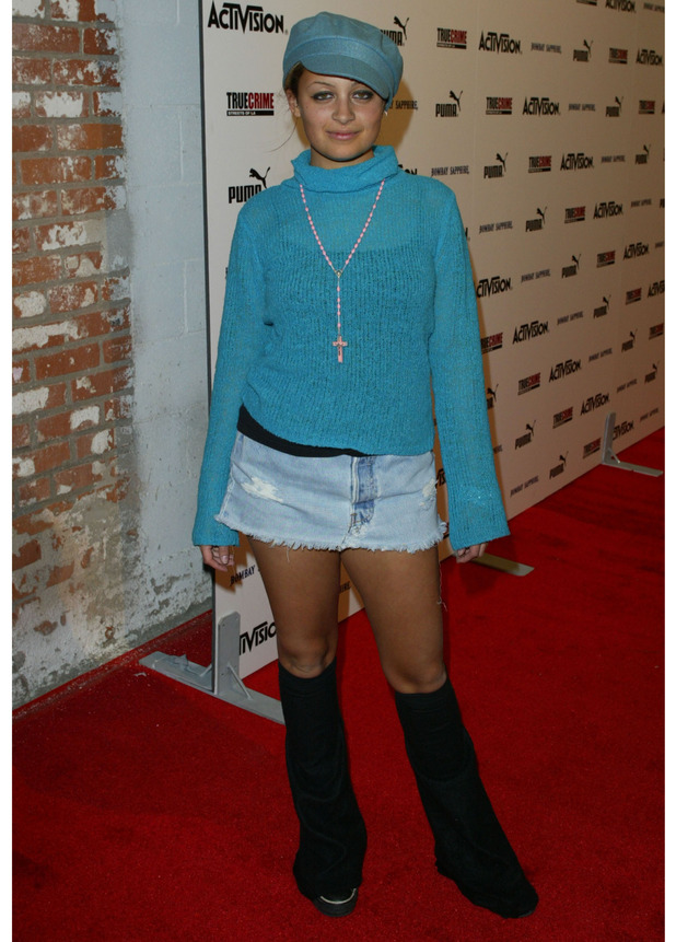 Nicole Richie at the Nick Kang and Activision Along With Puma event in California, November 4th 2003