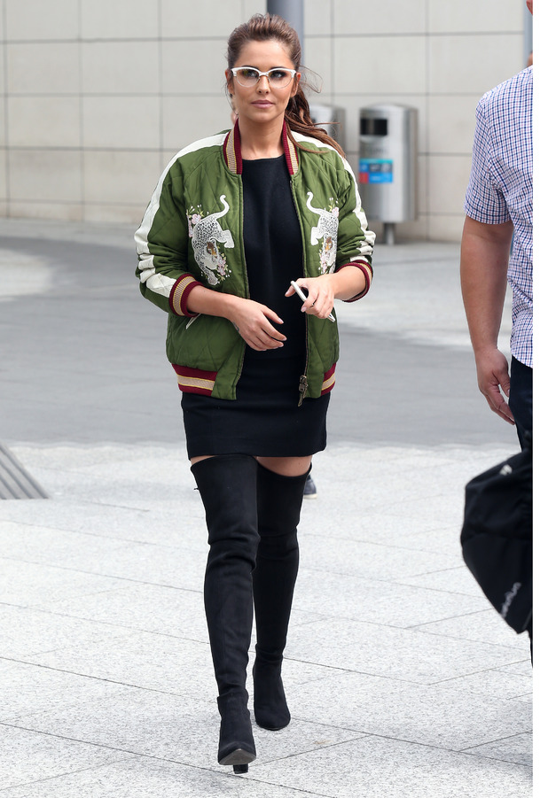 Cheryl seen out and about in London after leaving Jamie's Italian, 20th May 2016