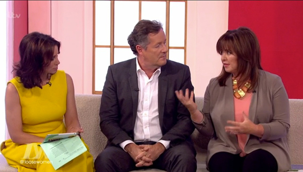 Katie Price joined by son Harvey on Loose Women to discuss online trolls 17 May 2016
