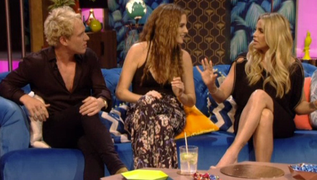 Katie Price offers Binky Felstead advice on female waxing Up Late with Rylan 19 May 2016