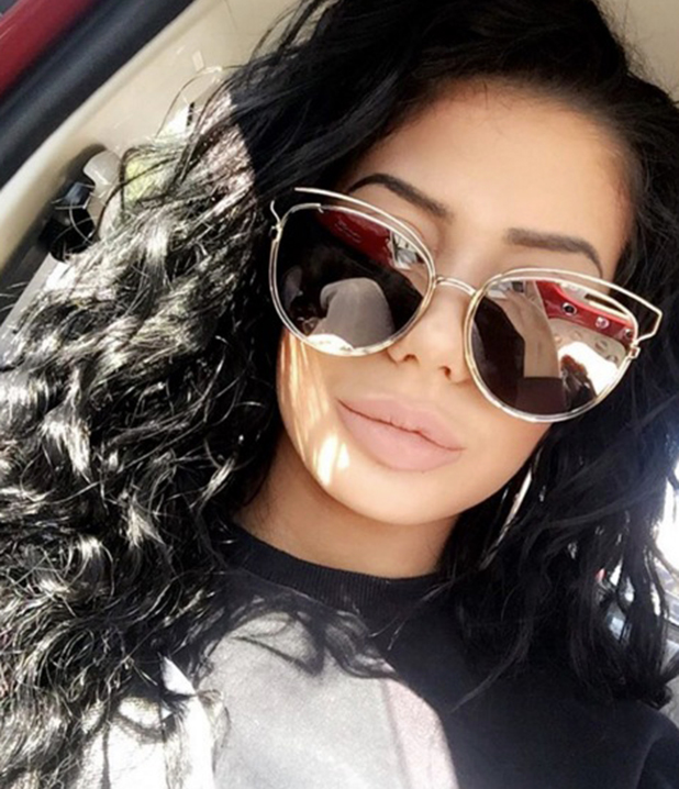 Chloe Ferry shows off new nose on Instagram after going under the knife 20 May 2016
