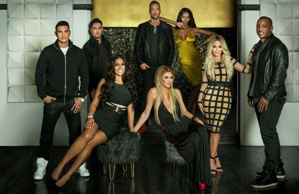 Famously Single group shot including Calum Best and Brandi Glanville May 2016