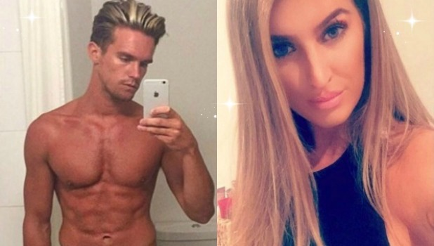 Lillie Lexie Gregg and Gaz Beadle Instagram / Snapchat collage
