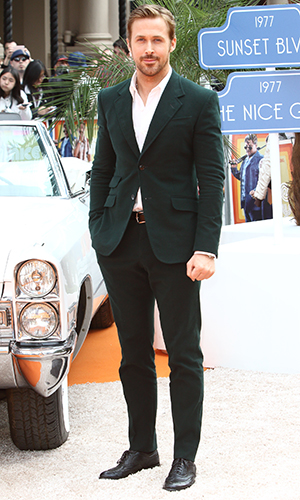 Ryan Gosling The UK Premiere of 'The Nice Guys' held at the Odeon Leicester Square 19 May 2016