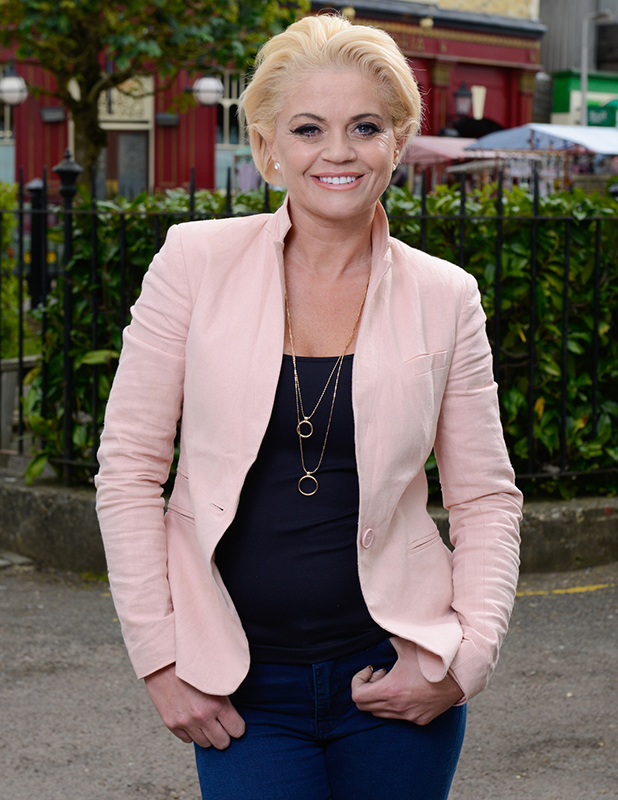 EastEnders - Sam Mitchell, played by Danniella Westbrook BBC One