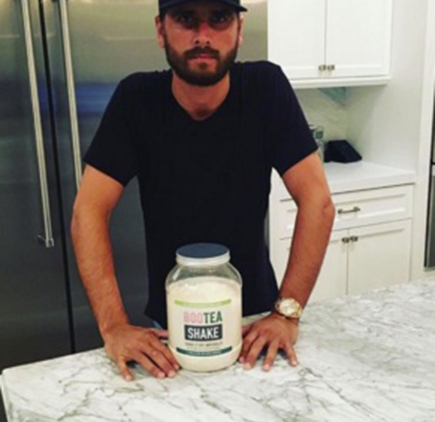 Scott Disick poses with Bootea on Instagram 19 May 216