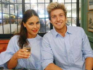 Made In Chelsea's Louise and Sam Thompson wearing matching outfits!