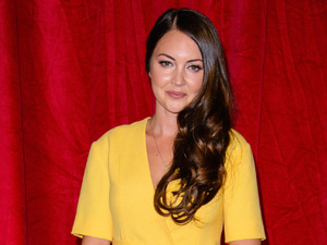 Jacqueline Jossa and Lacey Turner  look glam at British Soap Awards
