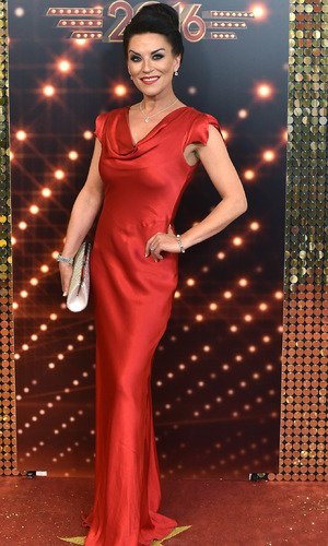 Zoe Lucker at British Soap Awards, Hackney Town Hall, 29/5/16