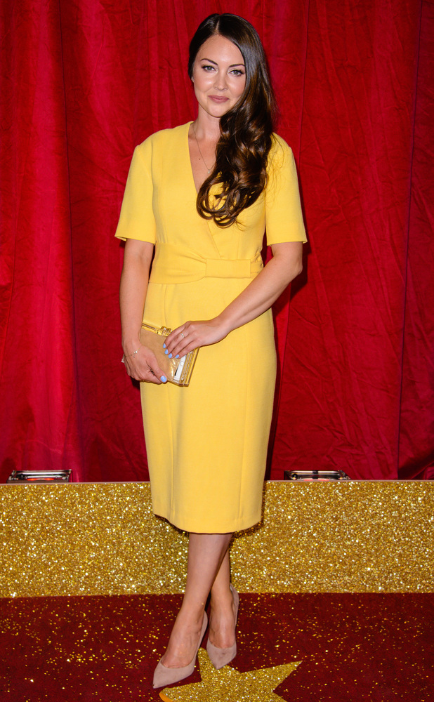 Lacey Turner at British Soap Awards, Hackney Town Hall, 29/5/16