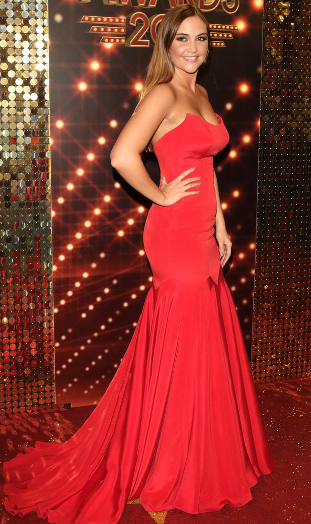 Jacqueline Jossa at British Soap Awards, Hackney Town Hall, 29/5/16