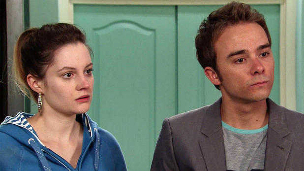 Corrie, Kylie and David shocked, Thu 26 May
