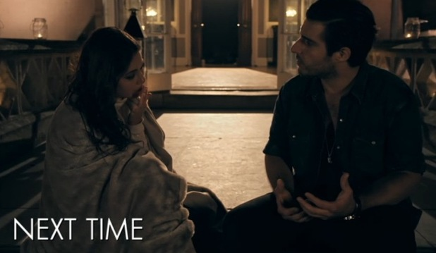Louise Thompson and Alik Alfus, Made In Chelsea 24 May