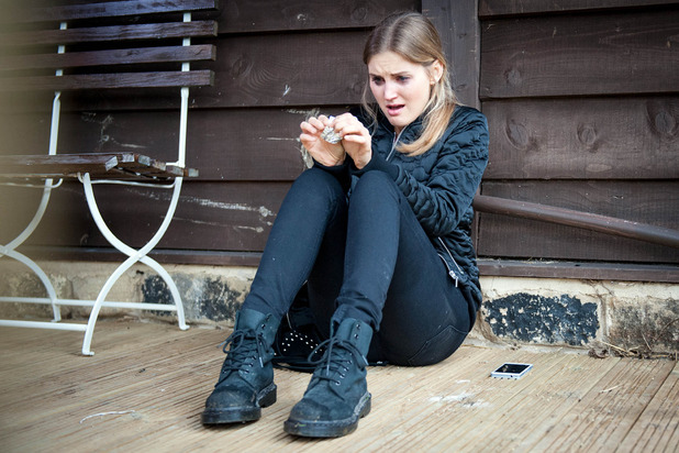 Emmerdale, Holly takes heroin, Thu 26 May