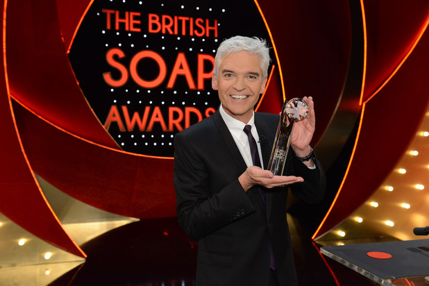 British Soap Awards 2016, Phillip Schofield, Sun 29 May