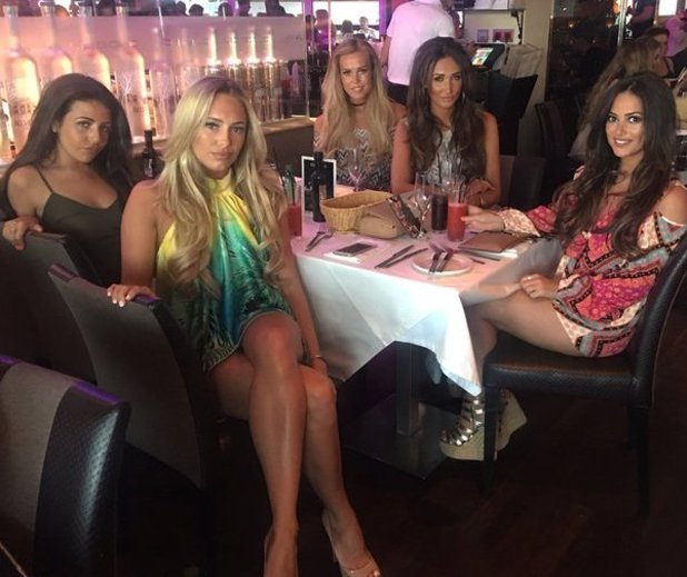 Megan McKenna shares pictures of Girlband in Marbella - 26 May 2016