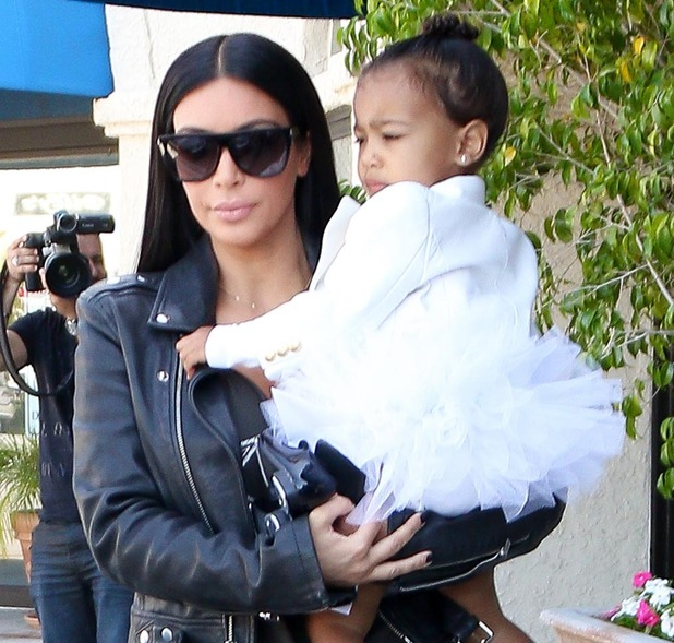 Kim Kardashian and North West leaving ballet classes in Los Angeles, 28th May 2016