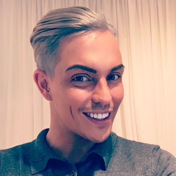 TOWIE's Bobby Norris shows off his silver hair on Instagram, 22nd May 2016