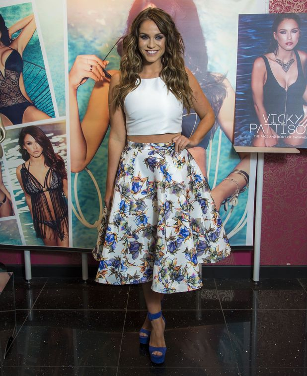 Ann Summers 'face of swimwear' Vicky Pattison meets and greets fans at the Bluewater store. 26 May 2016
