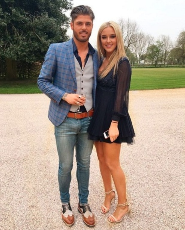 Sam Reece and girlfriend Taylor Ward 24 May
