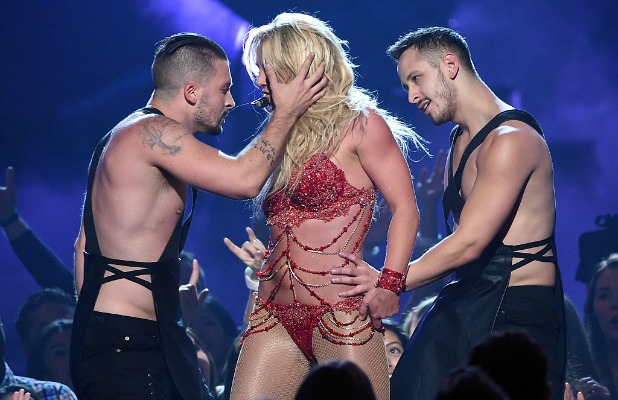 Britney Spears performs onstage during the 2016 Billboard Music Awards at T-Mobile Arena on May 22, 2016 in Las Vegas, Nevada. (Photo by Frazer Harrison/BBMA2016/Getty Images for dcp)