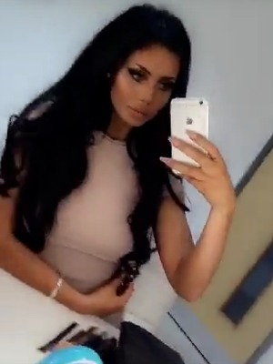 Geordie Shore's Chloe Ferry shares Snapchat 24 May 2016