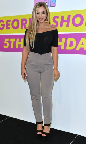 Holly Hagan of Geordie Shore celebrate their fifth birthday at MTV London on May 24, 2016 in London, England. (Photo by Anthony Harvey/Getty Images)