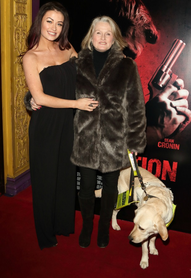 'Retribution' gala screening at Odeon Haymarket Jess Impiazzi and her mum Debbie