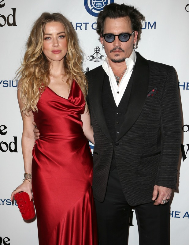 The Art of Elysium Presents Vivienne Westwood & Andreas Kronthaler's 2016 HEAVEN Gala Amber Heard and Johnny Depp