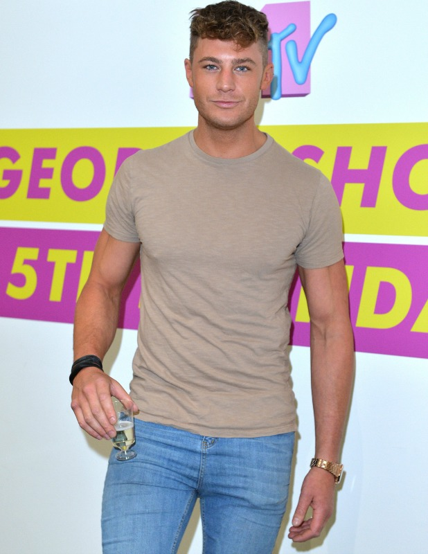 Scott Timlin of Geordie Shore celebrate their fifth birthday at MTV London on May 24, 2016 in London, England. (Photo by Anthony Harvey/Getty Images)