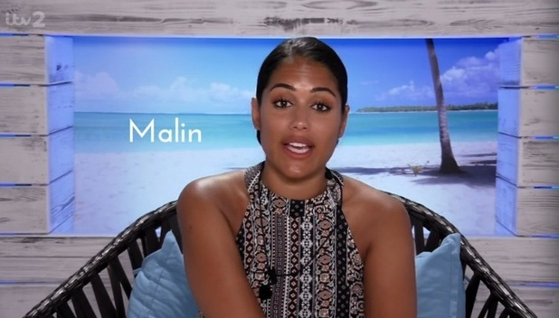 Malin Andersson, Love Island 2 June