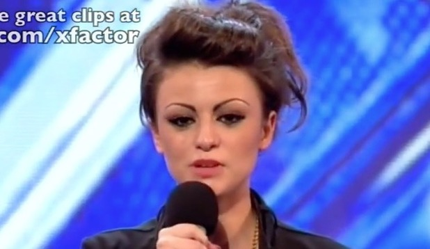 Cher Lloyd on The X Factor in 2010 - uploaded May 2016